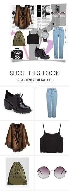 """""""de viaje✌"""" by rebecca-0518 ❤ liked on Polyvore featuring Opening Ceremony, Topshop, Monki, Vans and NLY Accessories"""