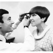 Vidal Sassoon and Mary Quant 5 point cut mod