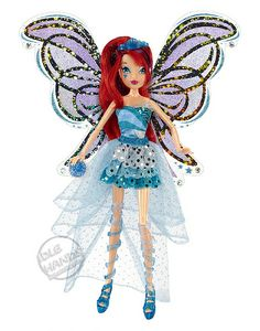 Nickelodeon JAKKS SDCC 2013 Exclusive Winx Club Limited Edition Deluxe Blue Bloom Doll