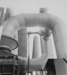 Robert Doisneau // Industrial Plant at Saint-Gobain, Le Havre, France, 1961.