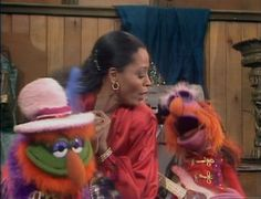 When I was a child you knew you made it BIG when you ended up on the Muppet show or Sesame street ;)
