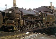 Steam Trains Uk, Steam Railway, Train Art, Old Trains, British Rail, Horse Training, Steam Engine, Steam Locomotive, Diesel Engine