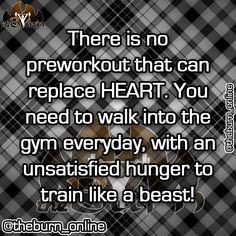 Seems legit! Train Like A Beast, Heart