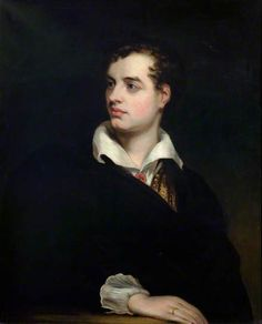 """Lord Byron (1788–1824)"", by Laslett John Pott (British, 1837-1898)."