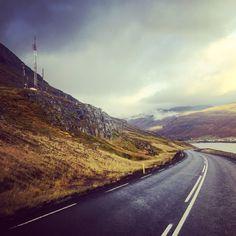 On the road to Eskifjörður