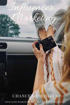 Influencer Marketing nimmt durch die intensive Nutzung und Bedeutung von Social Media in unserem Alltag an Bedeutung zu. Jedes Unternehmen möchte am liebsten immer selbst und eigeninitiativ mit der Zielgruppe kommunizieren. Es ist zunehmend schwieriger, die richtigen Menschen im Internet zu erreichen und diese auch bei Laune zu halten. #influencermarketing #influencer #socialmedia #socialmediamarketing #socialbranding #markenaufbau #branding Social Media Plattformen, Influencer Marketing, Miu Miu Ballet Flats, Content Marketing, Instagram Story, Online Business, Internet, Fashion, Girl Next Door
