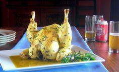 Pressure cooker beer can chicken