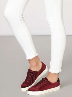 Red 'Carmen' trainer
