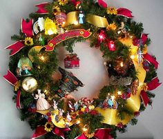 Wizard of oz wreath - love this!