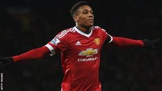 Anthony Martial- man of the match against stoke