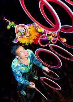 Cirque du Soleil La Nouba Show at Downtown Disney, Walt Disney World, FL