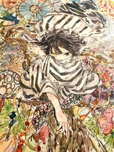 Imágenes random de Kimetsu no Yaiba - Iguro Obanai Anime Demon, Manga Anime, Anime Art, Boku No Academia, Deadman Wonderland, Gekkan Shoujo, Drawing Reference Poses, Blue Exorcist, Manga Reader