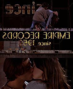 """Johnny Whitworth and Liv Tyler portray the characters of A.J. and Corey Mason respectively in the movie """"Empire Records""""."""