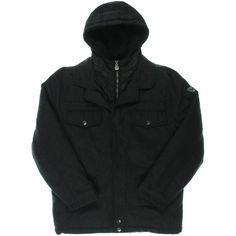 Hawke Co. Outfitter Boys Wool Jacket Heather Grey (18/20). Shell: 85% Polyester 10% Wool, 5% Other. Lining: 100% Polyester.
