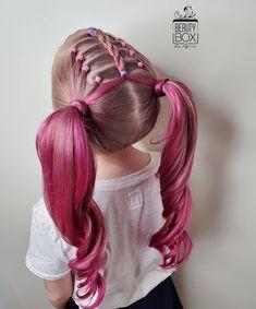 Cute Toddler Hairstyles, Cute Little Girl Hairstyles, Baby Girl Hairstyles, Kids Braided Hairstyles, Cute Hairstyles, Natural Hairstyles, Braids For Kids, Girls Braids, Kid Braids