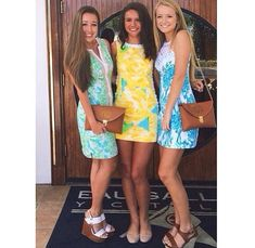 KATE IF YOU SEE THIS WE NEED MATCHING LILLY PULLITZER DRESSES FOR FLORIDAAA