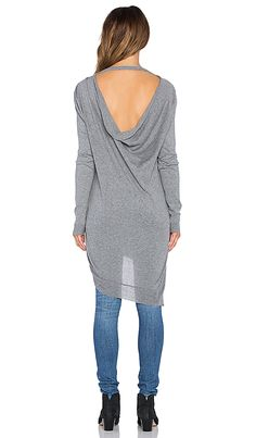 Shop for Bobi Cowl Back Sweater in Thunder at REVOLVE. Free 2-3 day shipping and returns, 30 day price match guarantee.