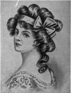 Fontanges: Modelo de peinado que se impuso hacia 1690. El nombre procede de una de las favoritas de Luis XIV.