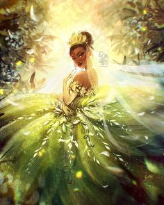 """ROY THE ART on Instagram: """"✨TIANA✨  _DISNEY PRINCESS FANART_  Princess Tiana, the fourth character in this series, is the protagonist of The Princess and the Frog.…"""""""