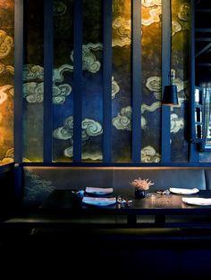 Agatha O l Gilles&Boissier - 2008 - Hakkasan - Istanbul Bar Restaurant, Chinese Restaurant, Restaurant Design, Restaurant Interiors, Chinese Interior, Japanese Interior, Residence Senior, Istanbul Restaurants, Art Haus