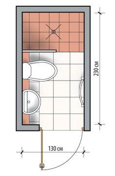Small Bathroom Plans, Small Bathroom Layout, Bathroom Design Layout, Tiny Bathrooms, Tiny House Bathroom, Bathroom Interior Design, Small Bathroom Dimensions, Master Bathrooms, Bathroom Designs