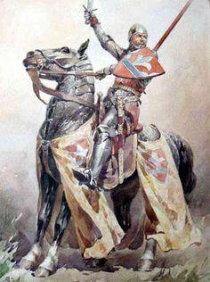 Serbian knight,medieval