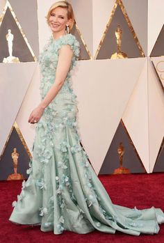 Cate Blanchett attends the 88th annual Academy Awards