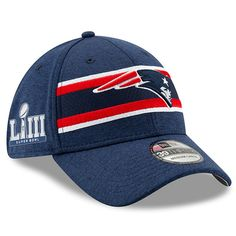 c9e824eda6976e New England Patriots New Era Super Bowl LIII Sideline 39THIRTY Flex Hat –  Navy