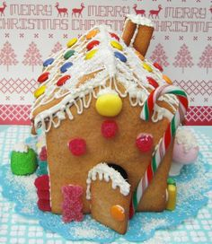 Juliart: Casita de jengibre navideña / Juliart: Christmas gingerbread house
