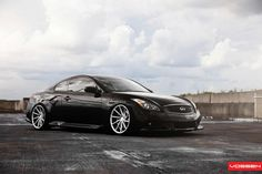 Tuned Infiniti G Coupe on Work VSXX Wheels