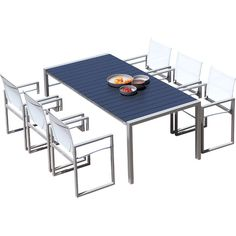Harbour Outdoor Piano Dining Table   AllModern
