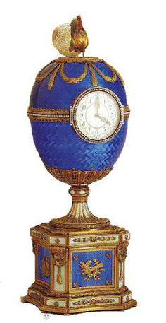 "Ovo Fabergé Kelch ""Chantecler Kelch"", 1904"