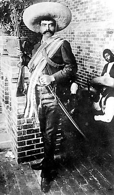 Aug 8, 1879 Emiliano Zapata born in Anenecuilco, Mexico, was a leading figure in the Mexican Revolution (1910–1920), during which he formed and commanded the Liberation Army of the South, an important revolutionary brigade. Followers of Zapata were known as Zapatistas.