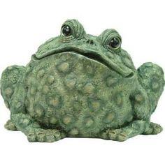 Super Jumbo Toad Statue - Dark Natural