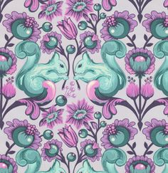 FreeSpirit Quilting Fabric: Love this color combo!