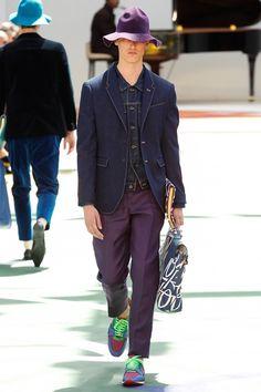 Sfilata Burberry Prorsum Milano Moda Uomo Primavera Estate 2015 - Vogue