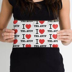 i love Tel Aviv pouch !  #israel #telaviv #tlv #jaffa #taglit #design #fashion