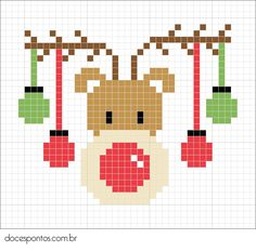 Cross Stitch Christmas Cards, Xmas Cross Stitch, Cross Stitch Cards, Simple Cross Stitch, Cross Stitch Animals, Christmas Cross, Cross Stitching, Cross Stitch Embroidery, Cross Stitch Designs