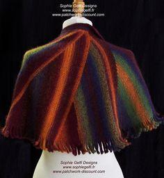 Ravelry: Sunset Pelerina pattern by Sophie GELFI Designs