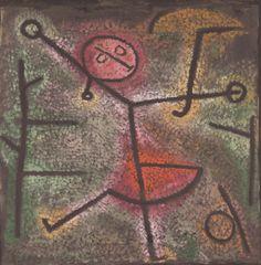 Los cuadernos de Vogli: Paul Klee. Dancing Girl, 1940.  «Vino, primero, pu...