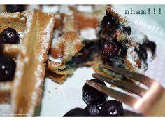 Do It Yourself | Waffles de Blueberry