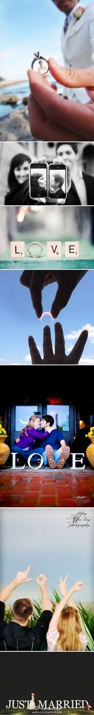 Photo ideas..  Love the one with the moon!