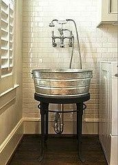 74168725086917948 Cut idea for a mudroom or a laundry room, even an outdoor sink