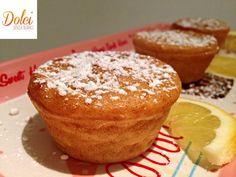 Muffin al Limone e Zenzero Vegani con Stevia, un muffin senza lattosio di dolci senza burro