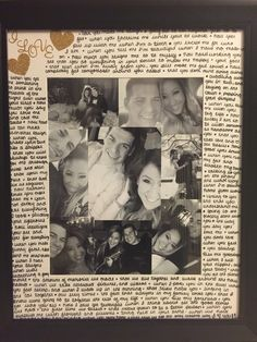 Picture frame I made for a gift for my boyfriend