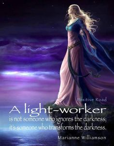 Powerful... I believe that is what we are here to do. Transform the darkness into light...
