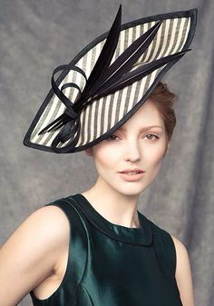 Rachel Trevor - Morgan Millinery, S/S 2015. #passion4hats