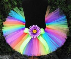 Very best quality Newborn baby Mini skirts Clothes for your chosen baby, You'll find that we have a nice choice of hand crafted infant toddler mini skirts long dresses. Rainbow Tutu, Rainbow Outfit, Neon Rainbow, 6th Birthday Parties, Birthday Tutu, 80s Party Decorations, Glow In Dark Party, Christmas Tutu Dress, Toddler Tutu