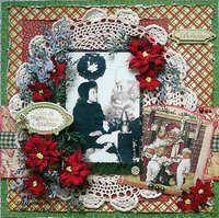 Project Ideas for Graphic 45 - Christmas Emporium Collection - 12 x 12 Double Sided Paper - Christmas Emporium, gf-4500361