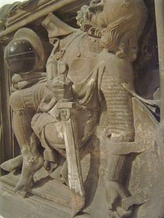 ca. 1340-1345 - 'soldiers at the Holy Sepulchre', Cathédrale, Strasbourg, Musée de l'Oeuvre Notre-Dame, Strasbourg, France by roelipilami, via Flickr
